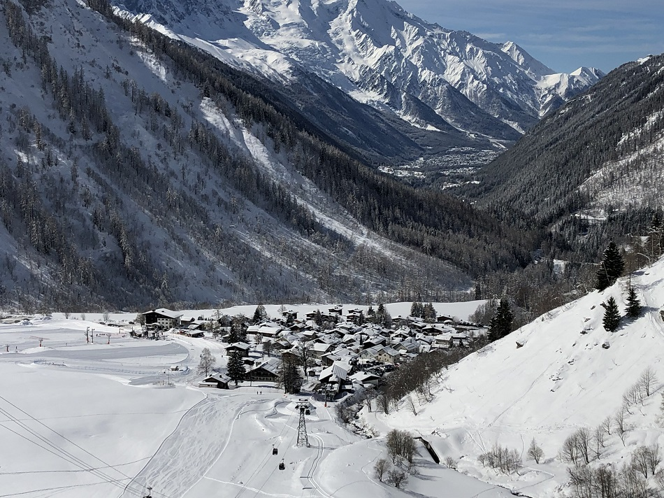 Le Tour Chamonix Mont Blanc France