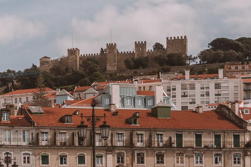 Lisbon Castelo de s Jorge - castle