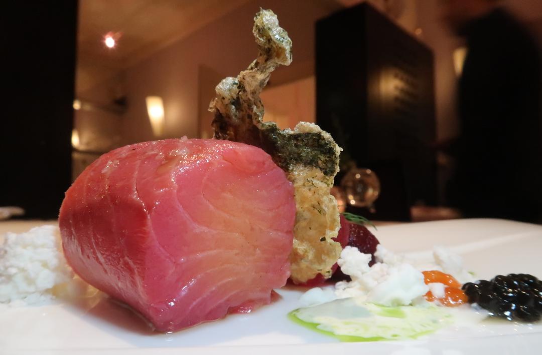 L'ortolan confit salmon