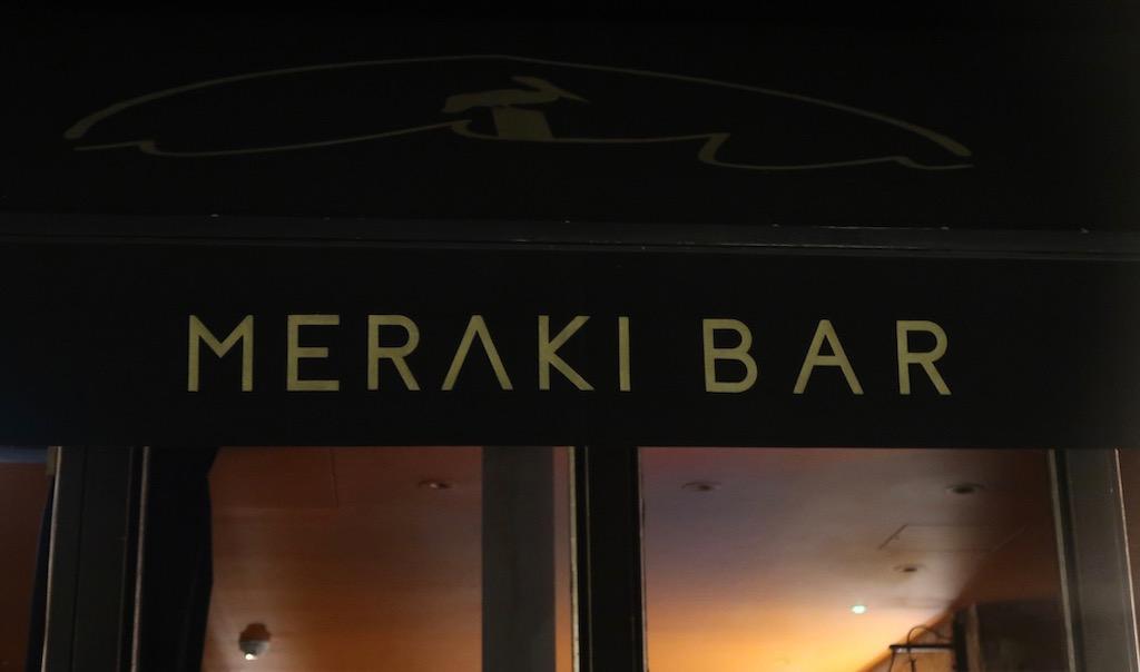 Meraki Bar Fitzrovia