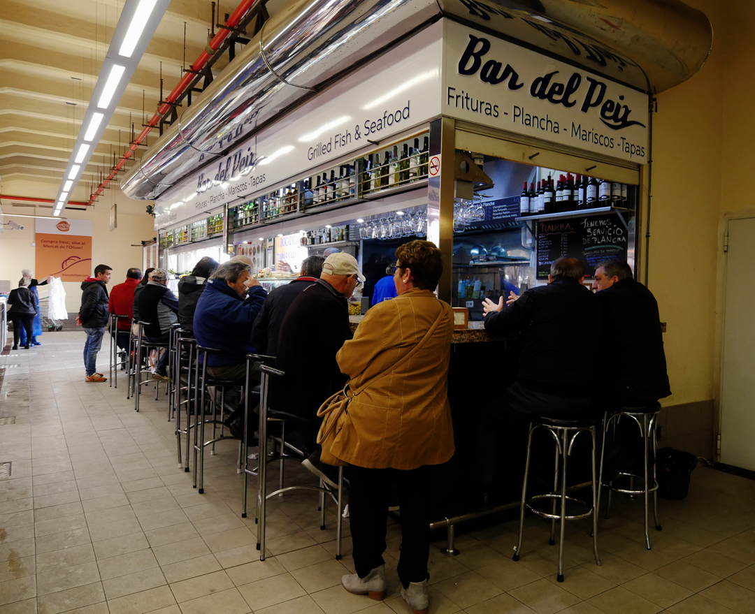Mercat de lOlivar bar