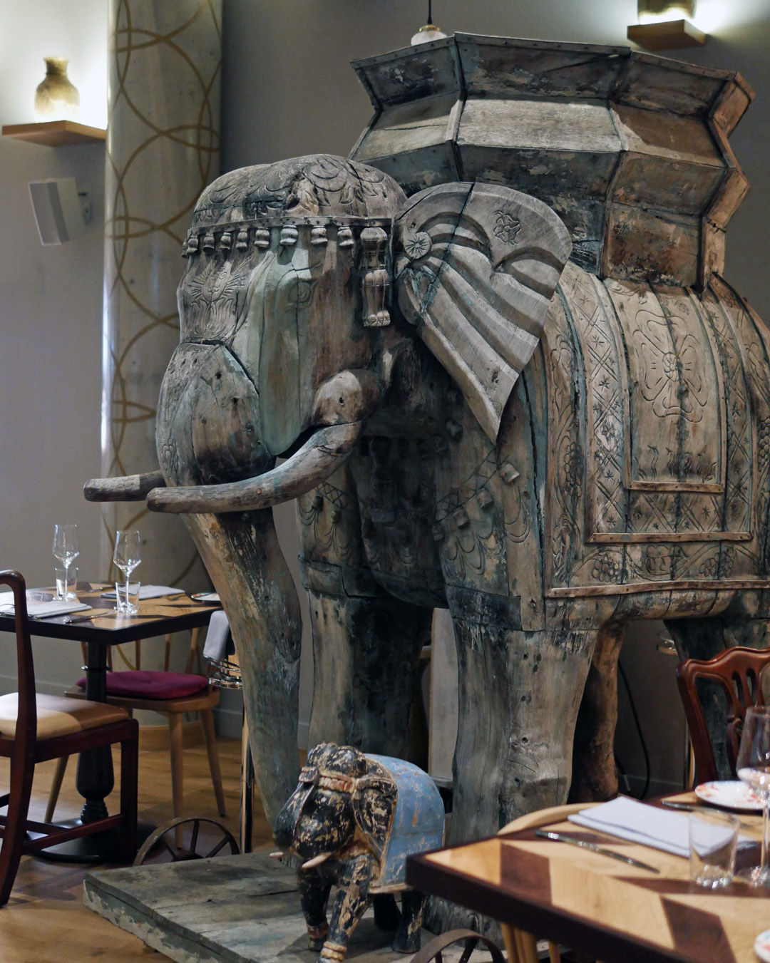 Mr Todiwala - Elephants