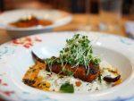 Mr Todiwalas Kitchen Saffron Halibut with soft Chilli Rice