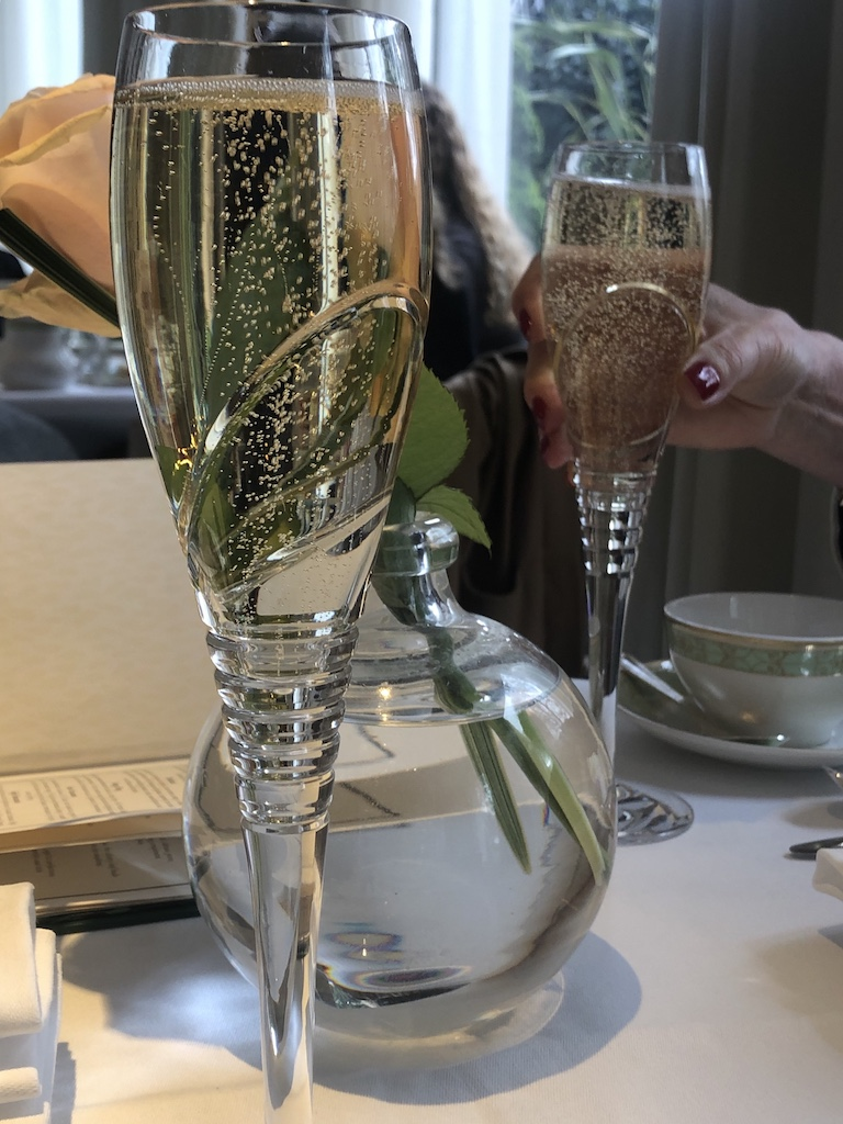 Champagne afternoon tea with buyagift