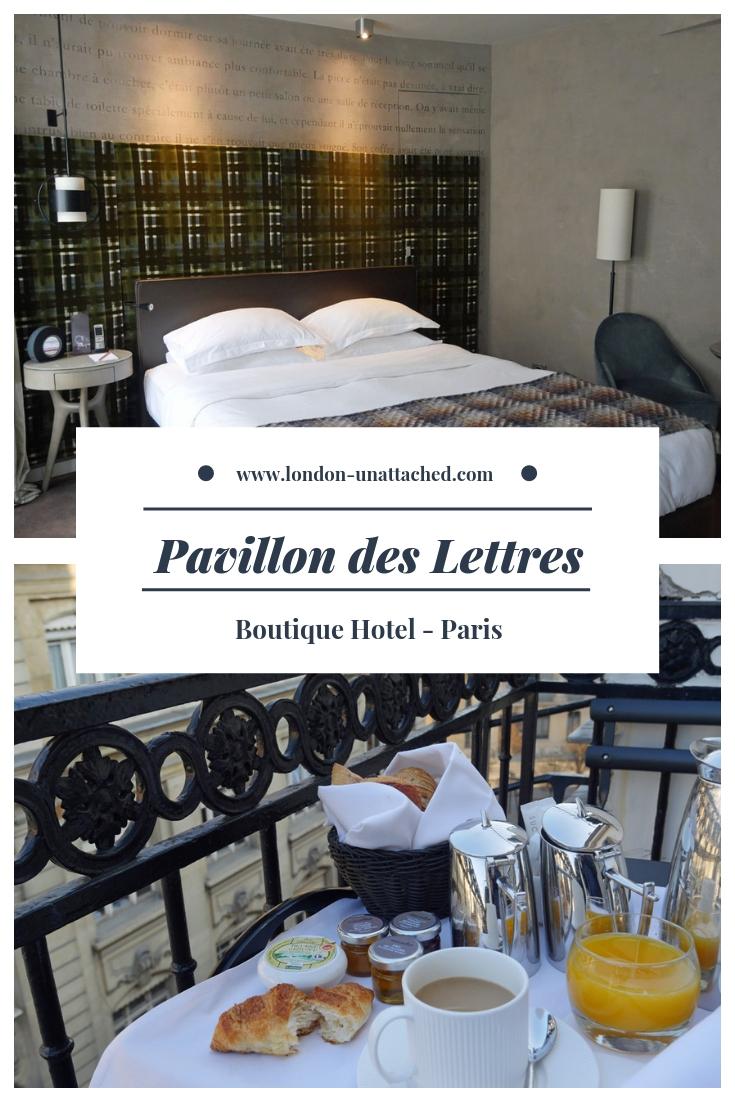 Pavillon des Lettres 8ieme Paris