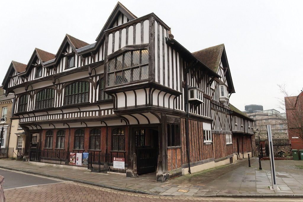 Southampton Mayflower Tudor House Street View