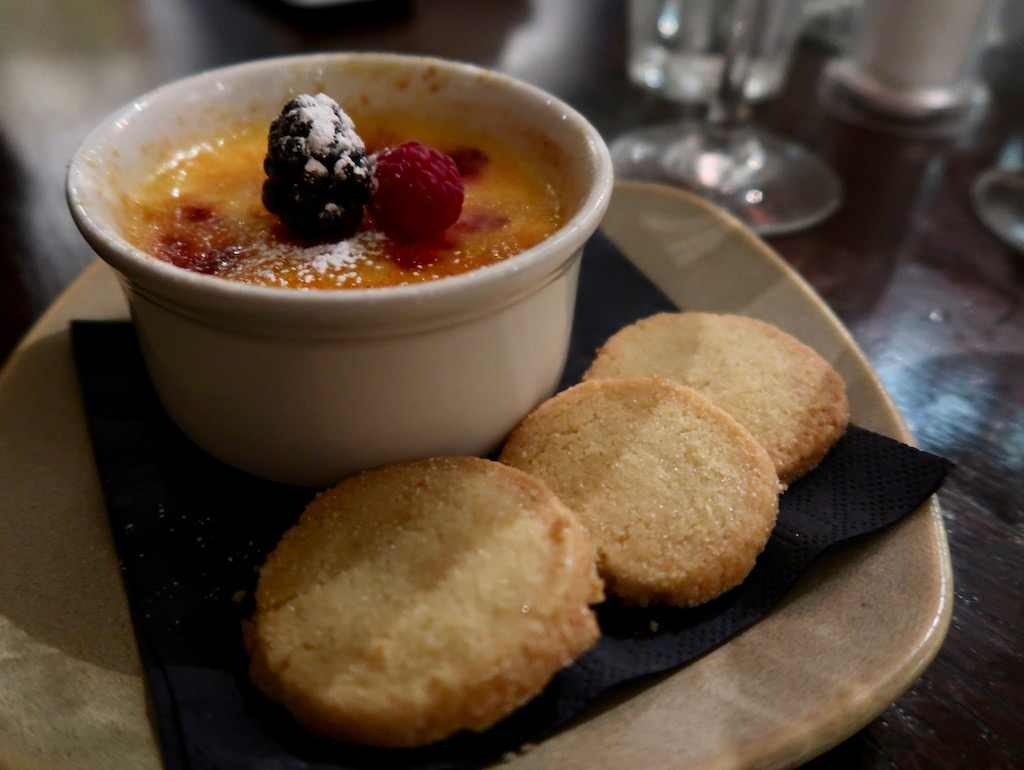 The Howard Arms - raspberry creme brûlée