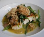 The Royal Oak - Hake with Monk's Beard