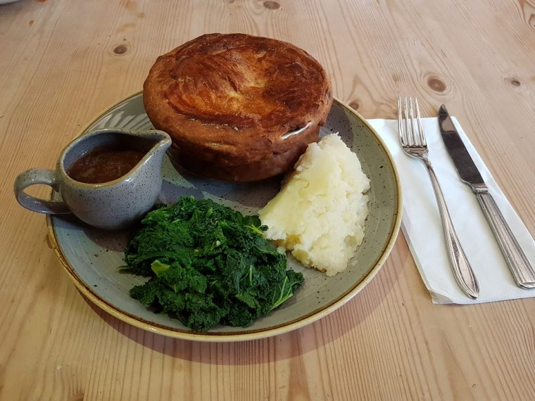 steak pie at the Royal Windsor pub
