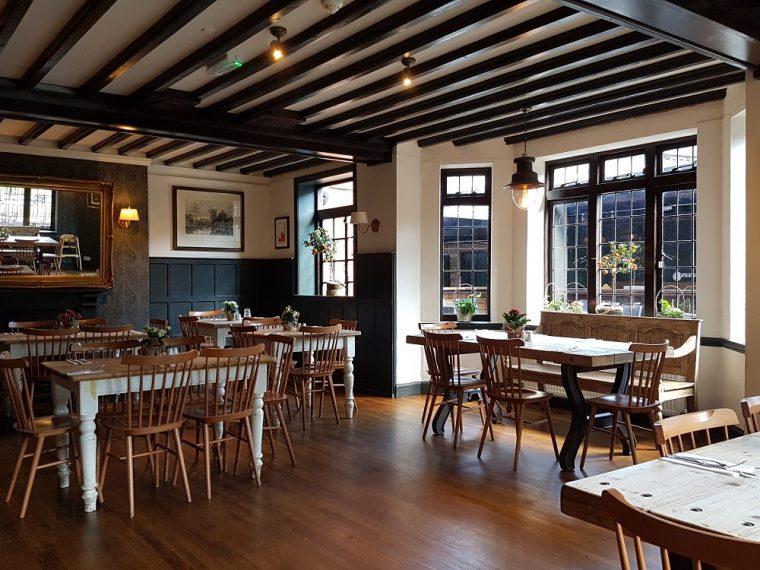 interior restaurant at royal Windsor Pub