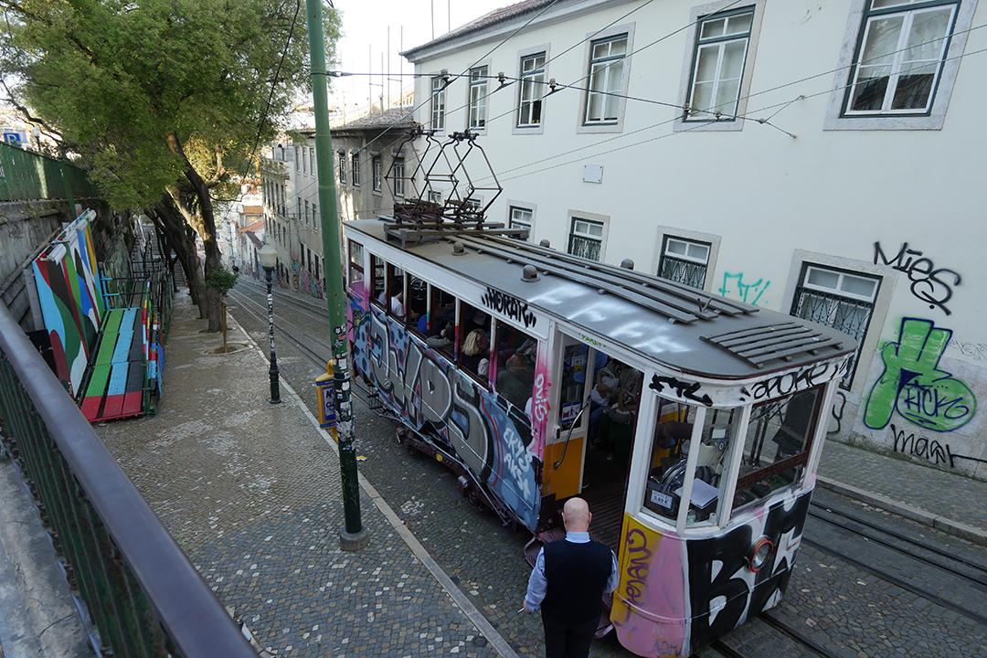 Tram Bairro Alto - Bica Funicular