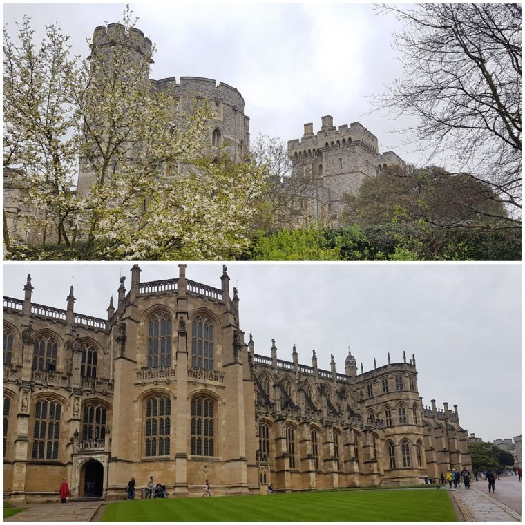 exterior views of Windsor Castle