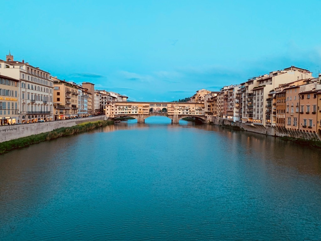 Antica Torre Florence View of the River Arno
