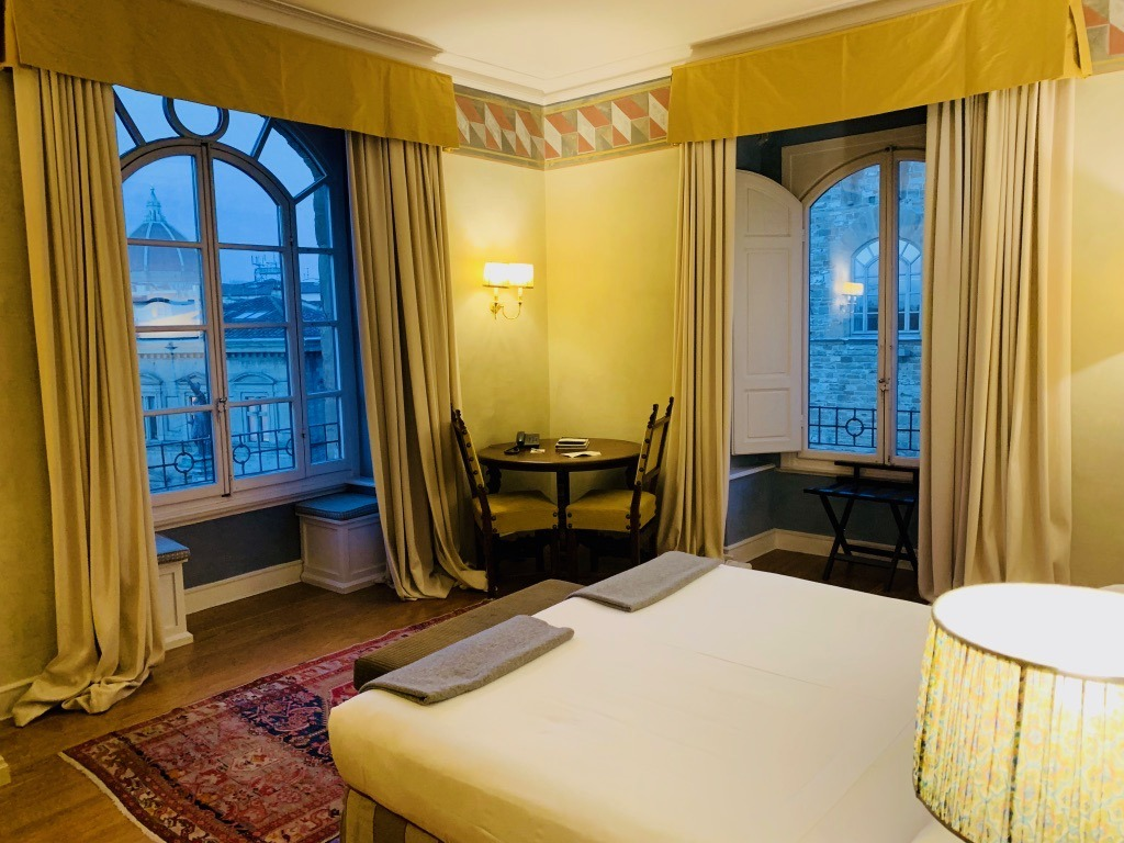 Antica Torre Florence - Bedroom with a view