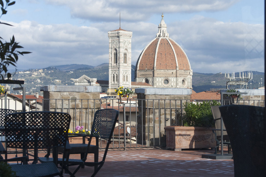 Antica Torre Florence duomo view