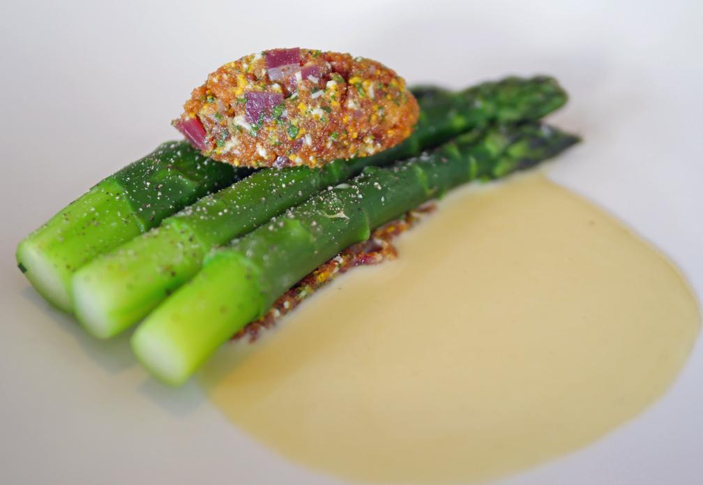 Asparagus at Trinity Clapham