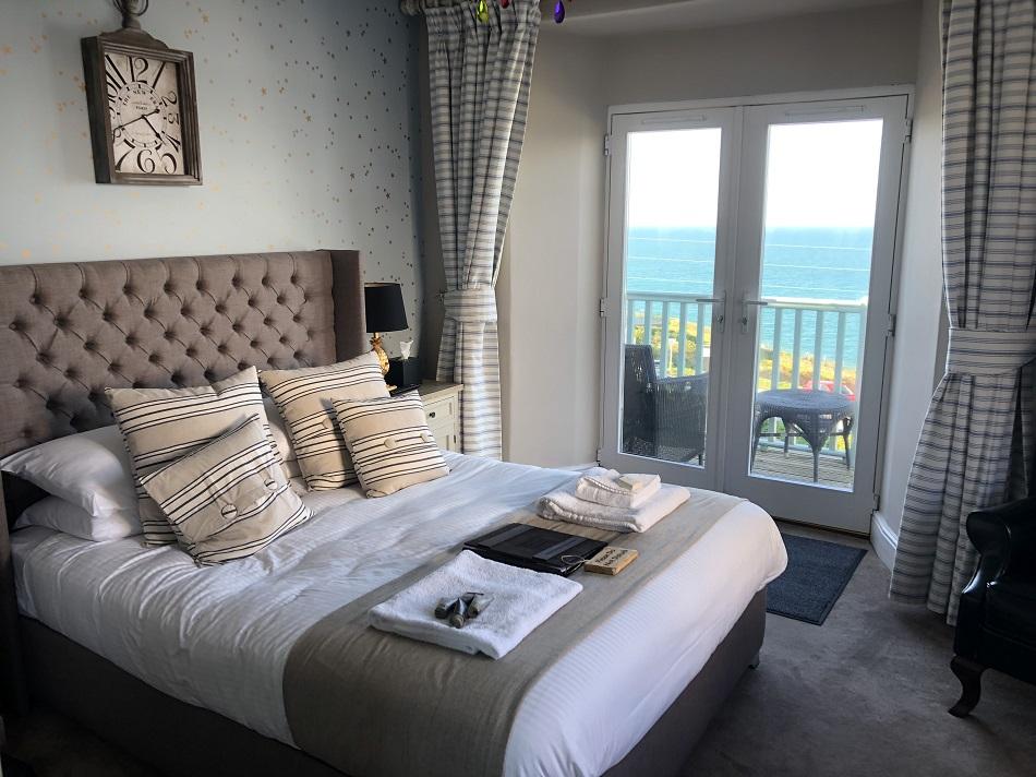 Bedroom Stargazy Inn Port Isaac Cornwall