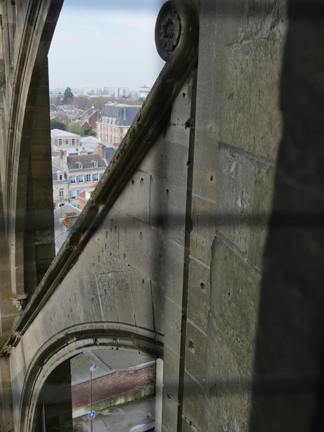 Bullet Holes Cathedral St Quentin