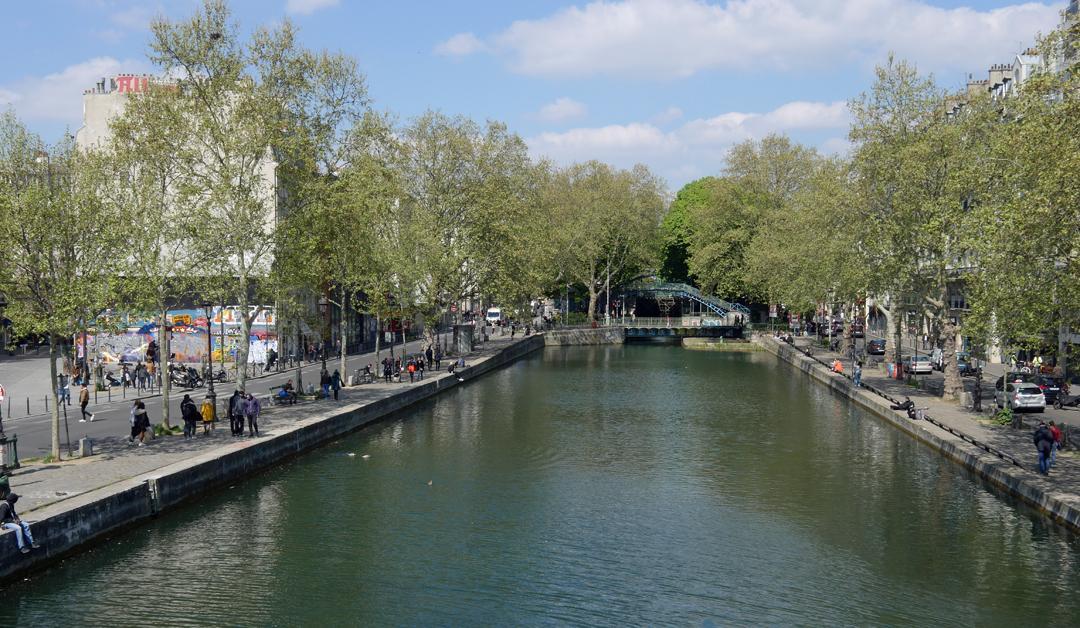 Canal St Martin - Paris 10ieme