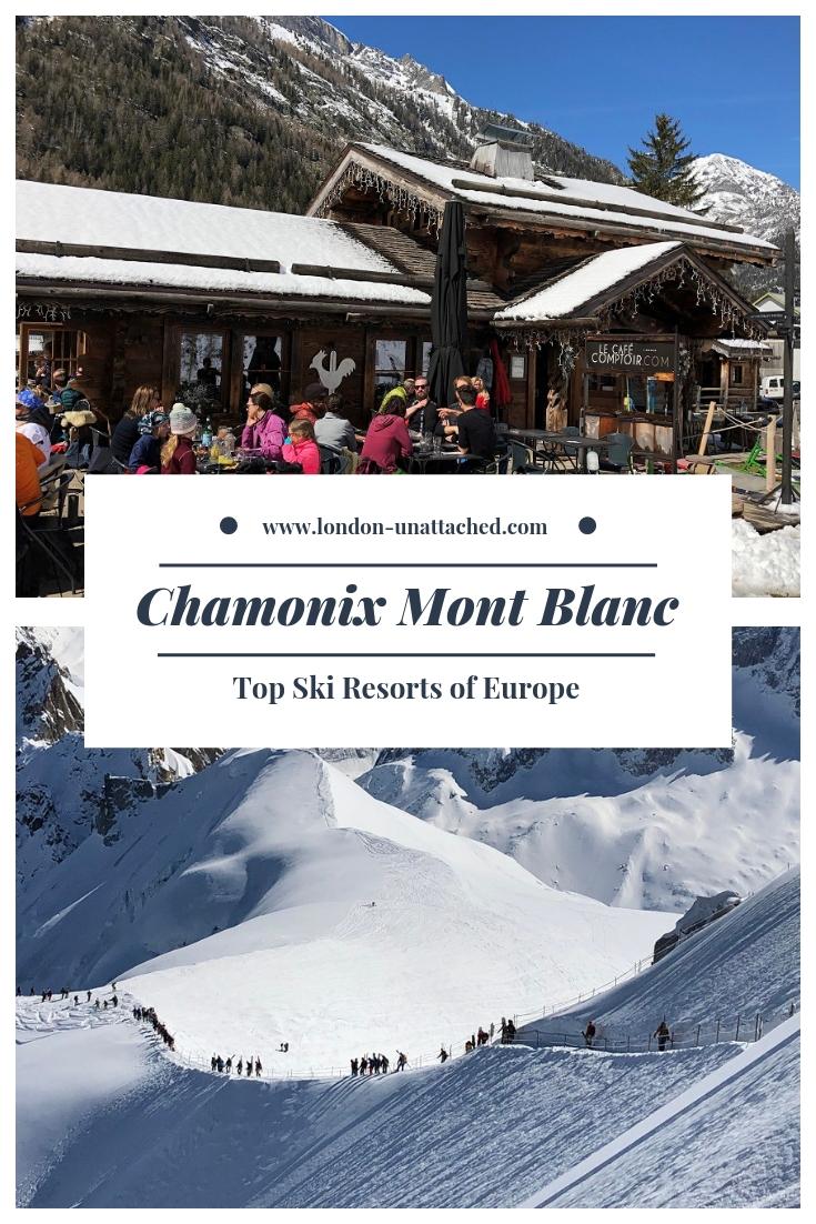 Chamonix Mont Blanc Skiing