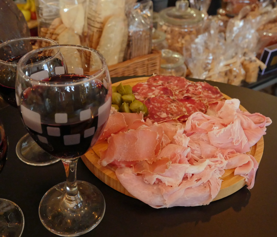 Charcuterie and French Wine - TSF Epicure - Eating Europe