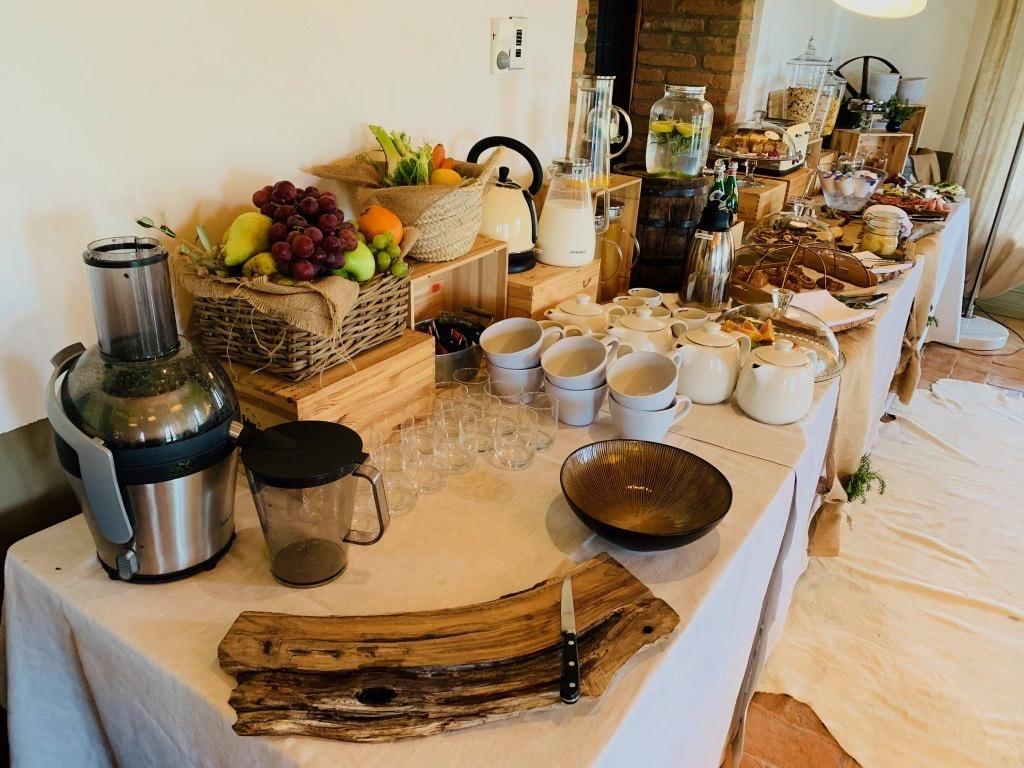 Conti di San Bonifacio breakfast