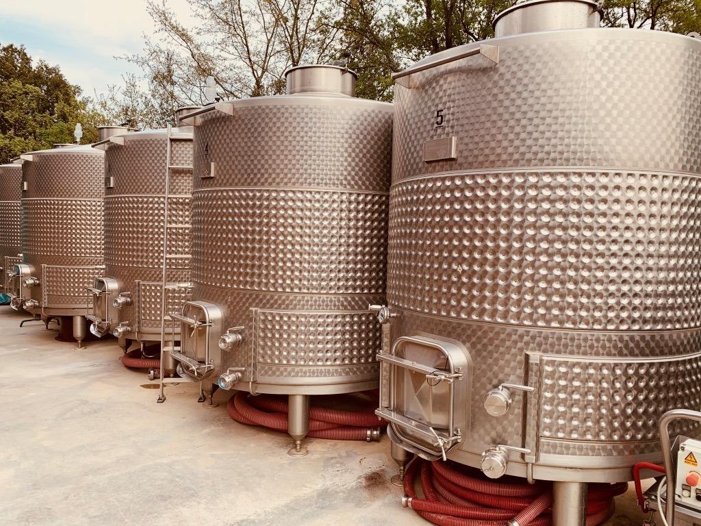 Conti di San Bonifacio wine vats