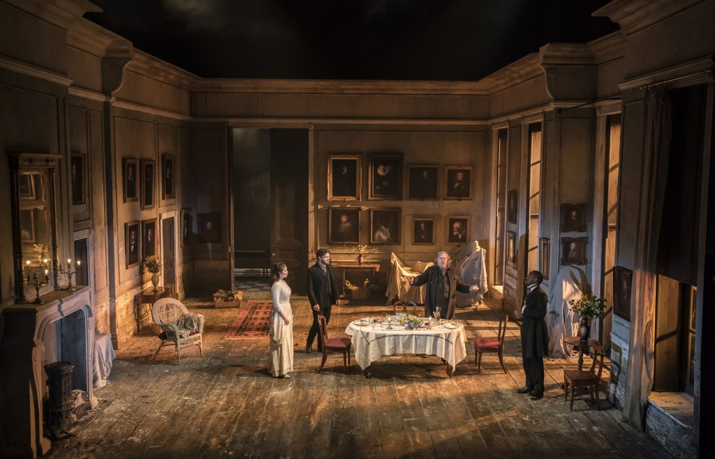 The Set - Piccadilly Theatre, Ibsen's Rosmersholm