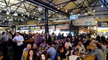 Italian Job Pub - Indoor crowd