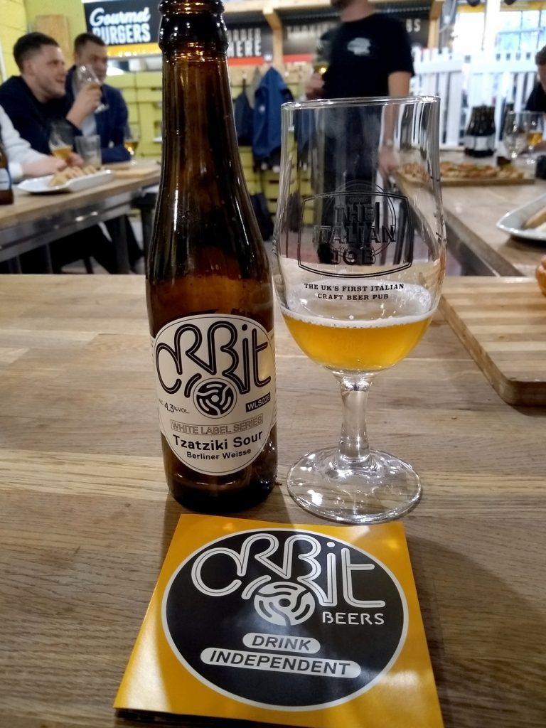 Orbit Beer in a glass