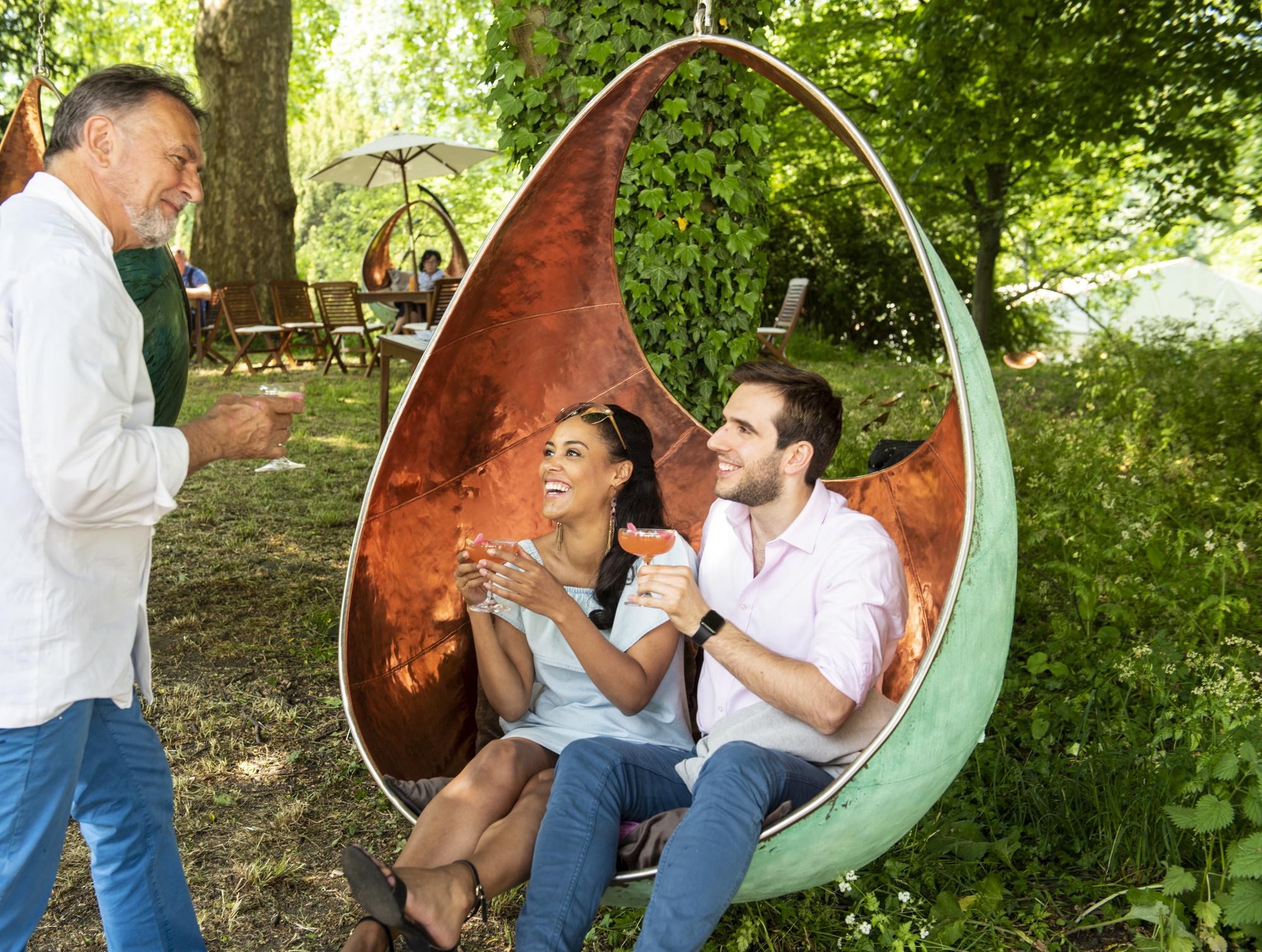 Jardin Blanc - love seat