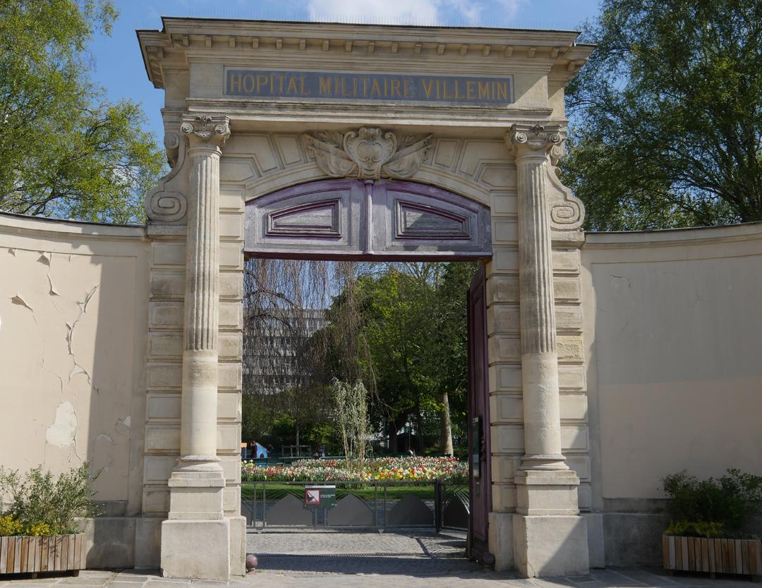 Jardin Villemin - Paris 10ieme