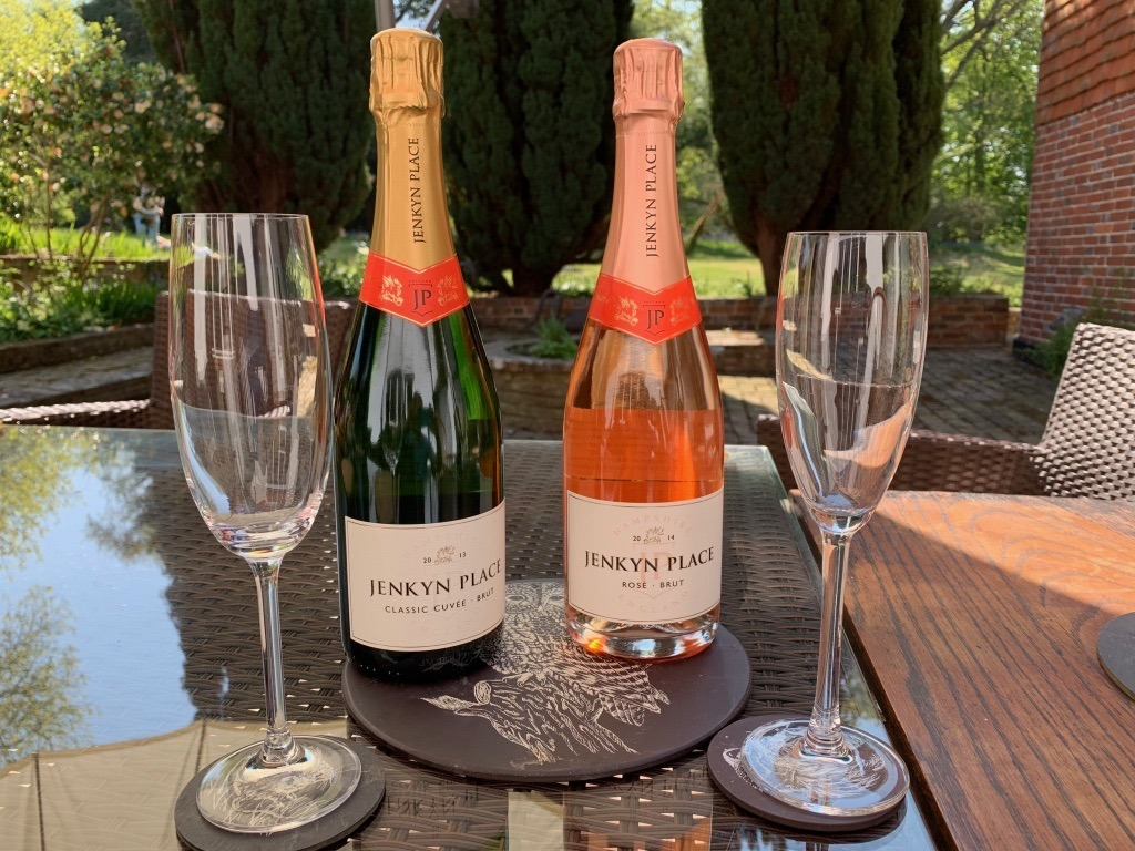 Jenkyn Place fizz - tasting for English Wine Week
