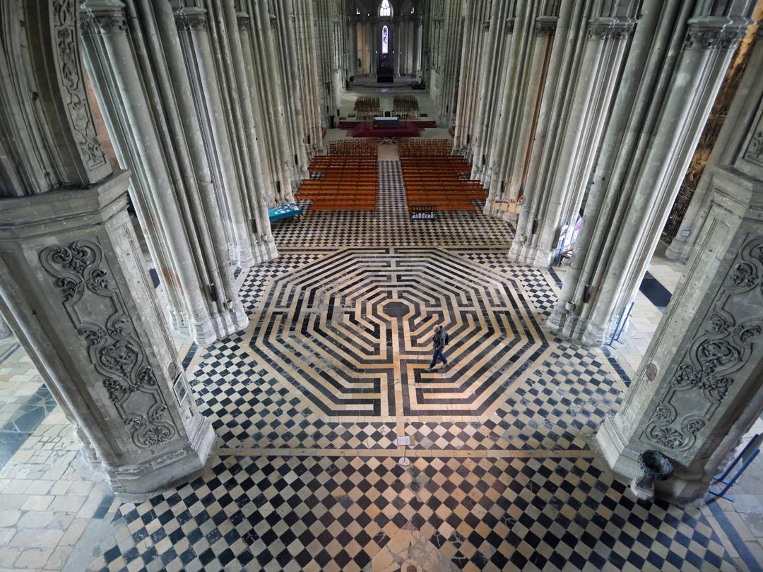 Maze St Quentin Basilica Aisne