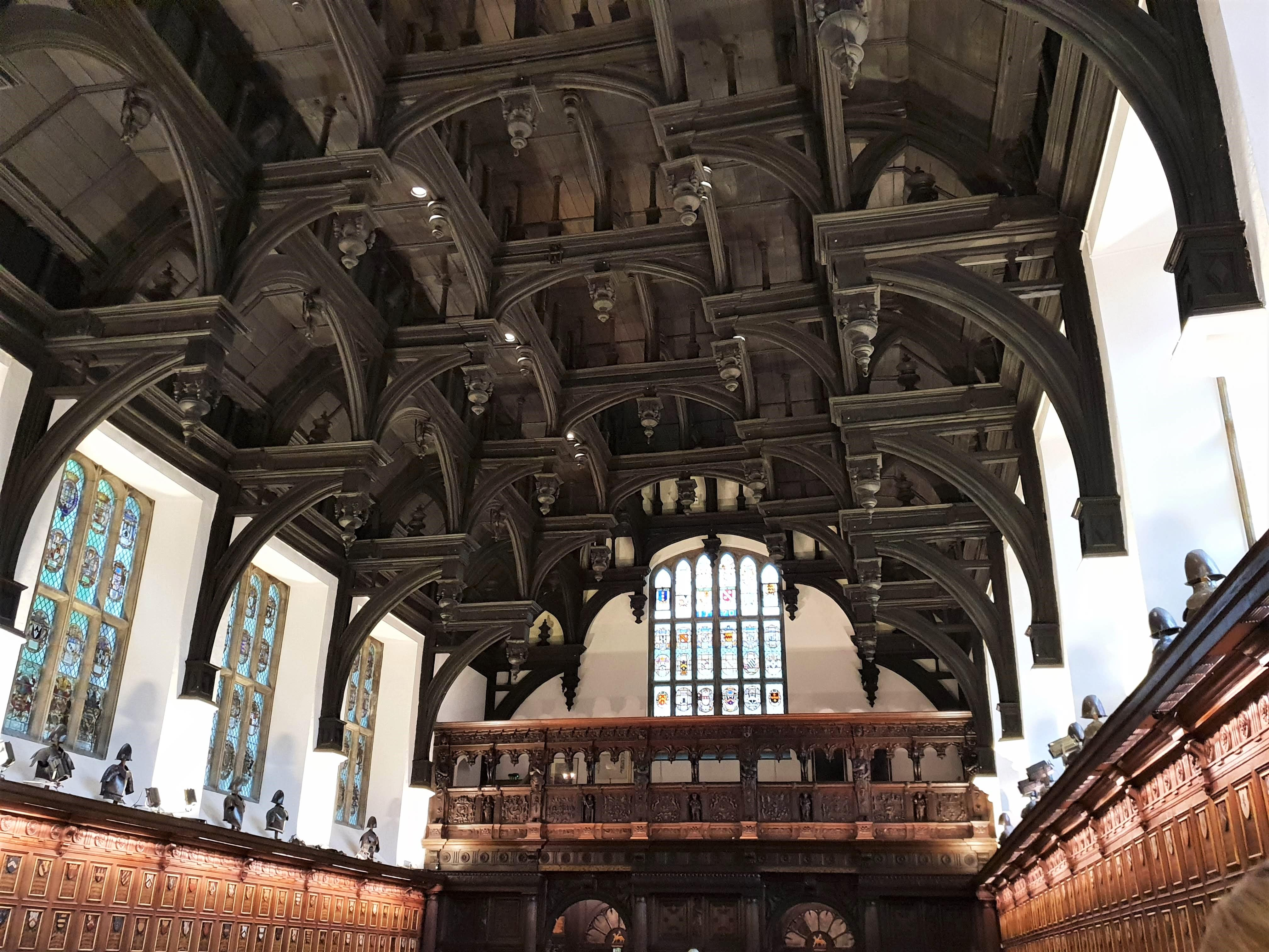 Middle Temple hall ceiling