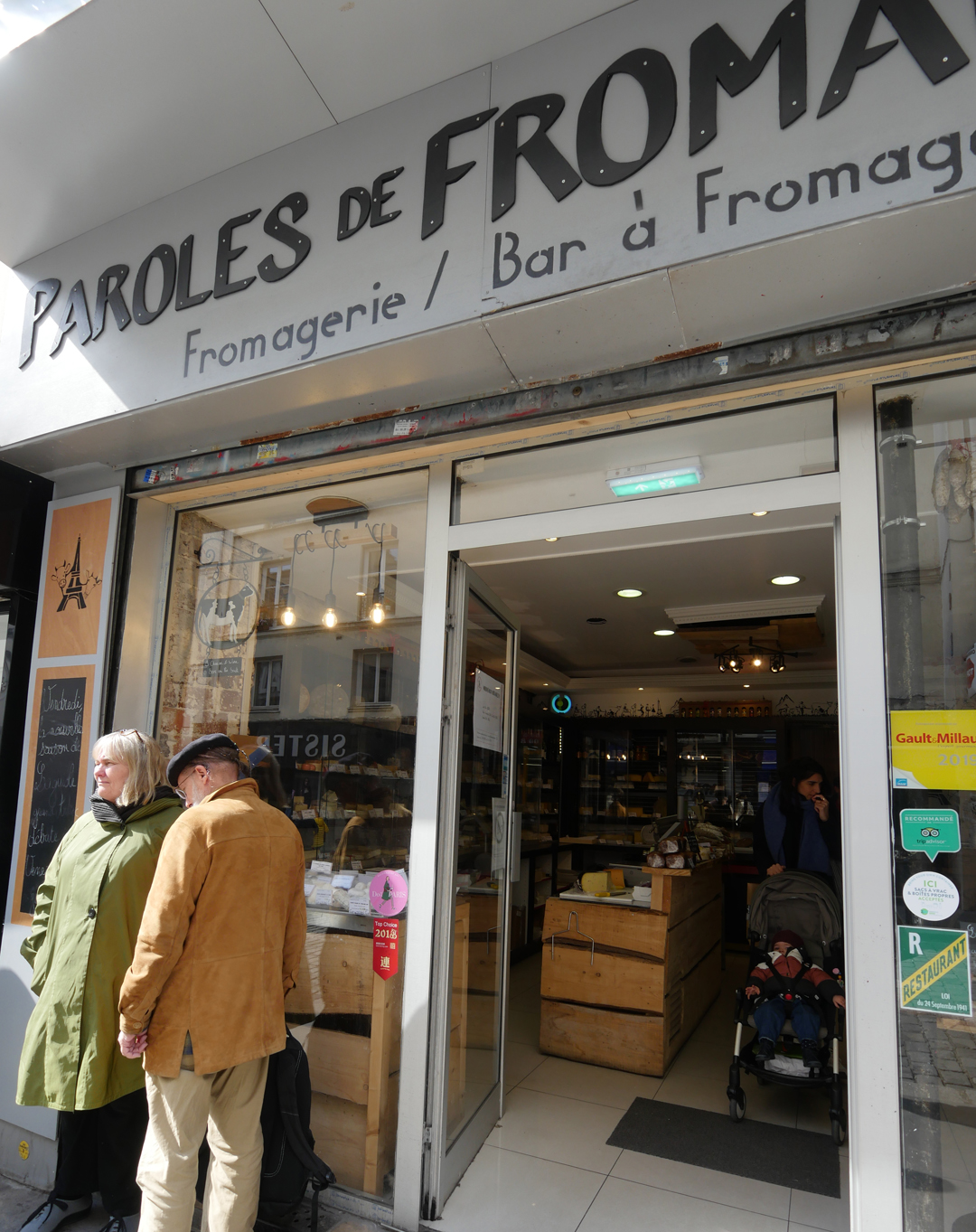 Paroles de fromagers Paris 10ieme