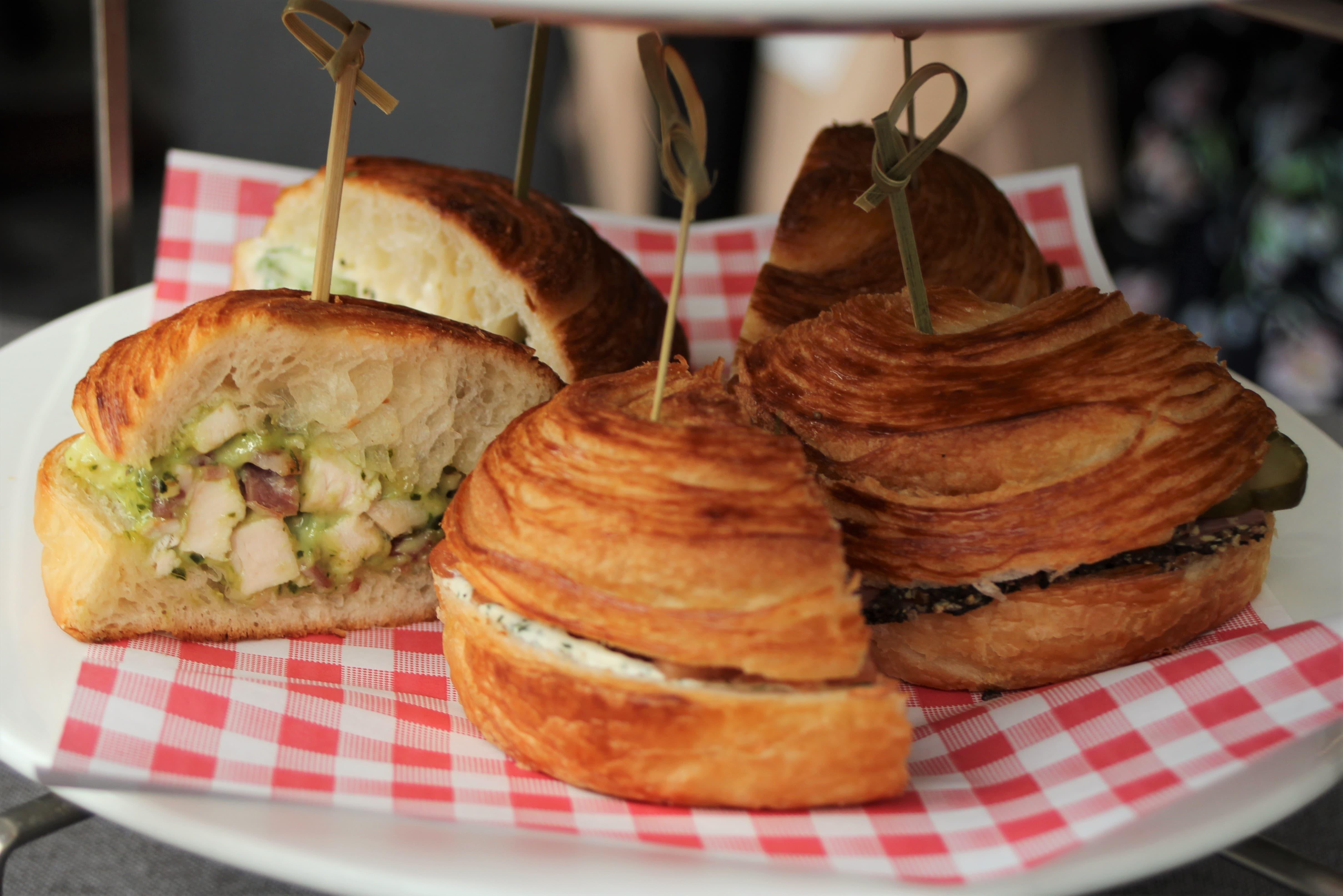 Plate Tea Academy sandwiches (