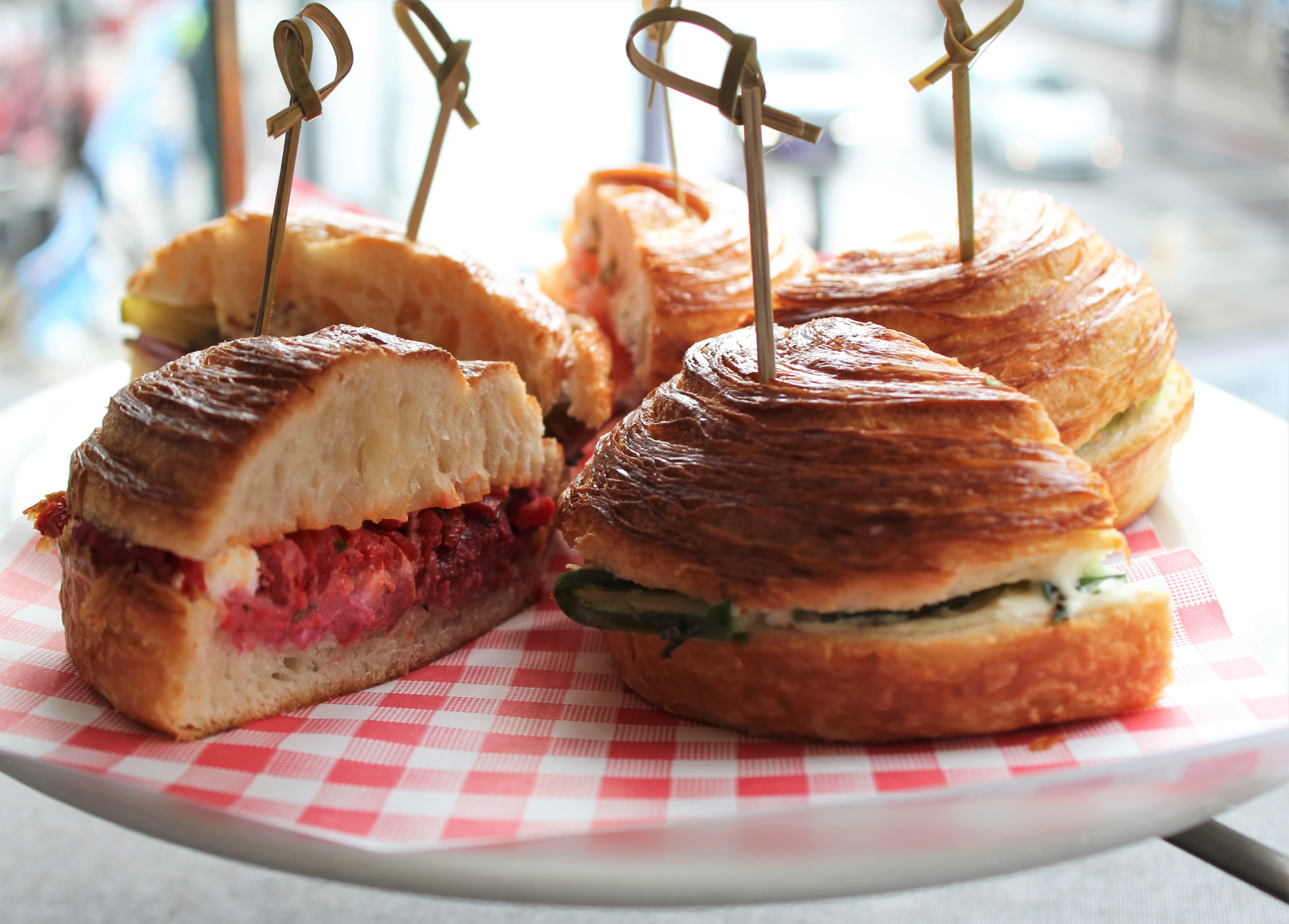 Plate Tea Academy sandwiches