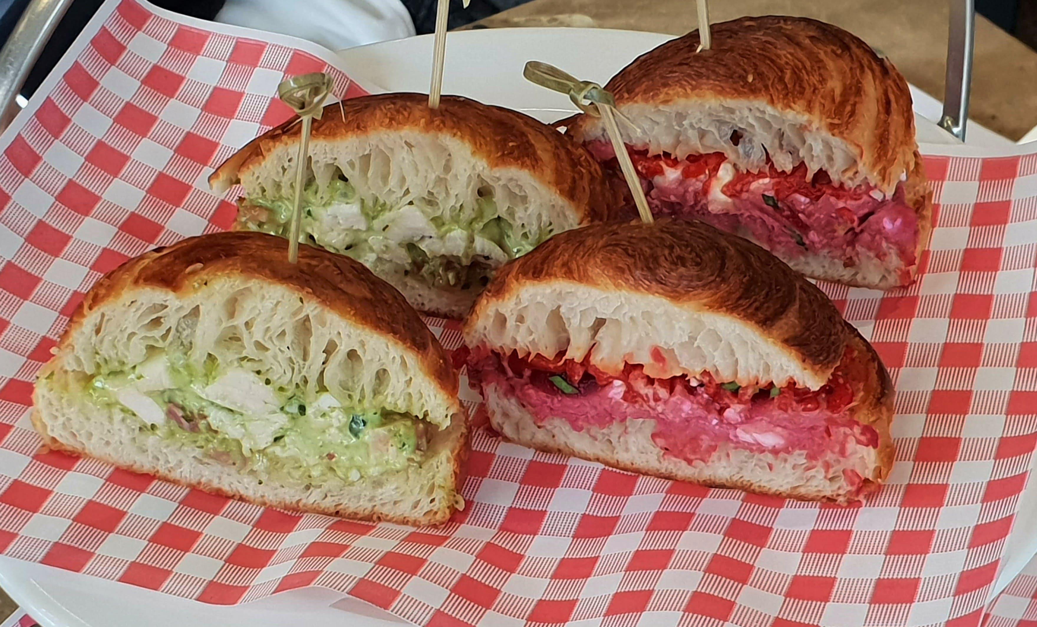 Plate Tea Academy sandwiches-