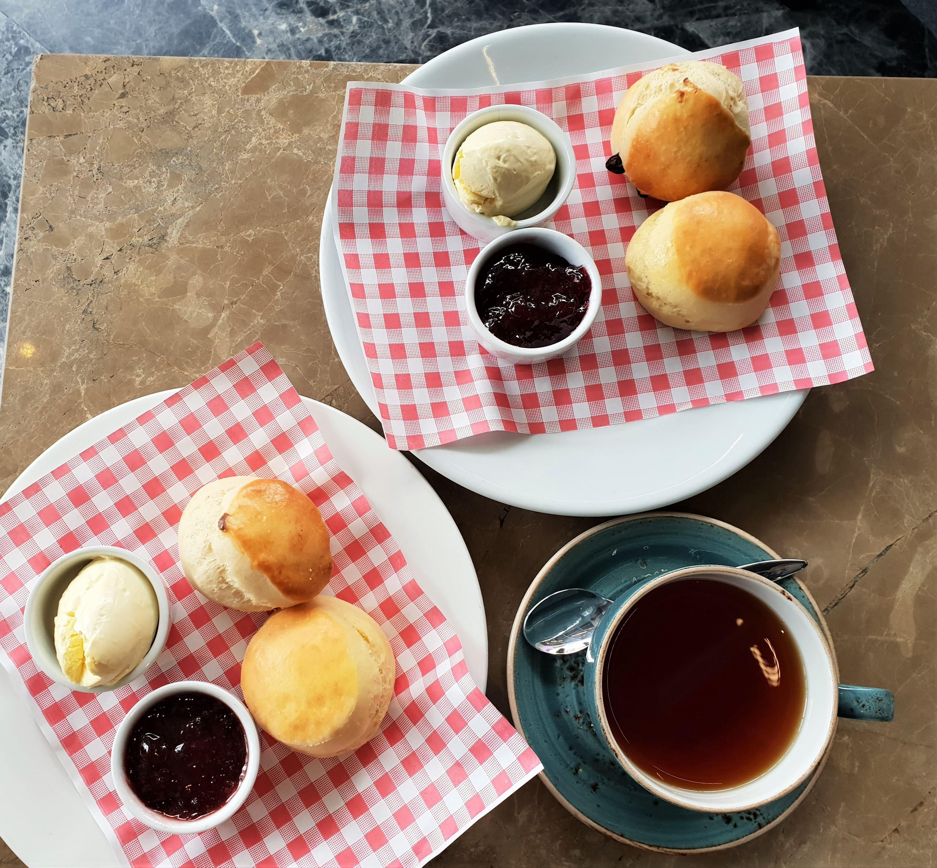 Plate Tea Academy scones