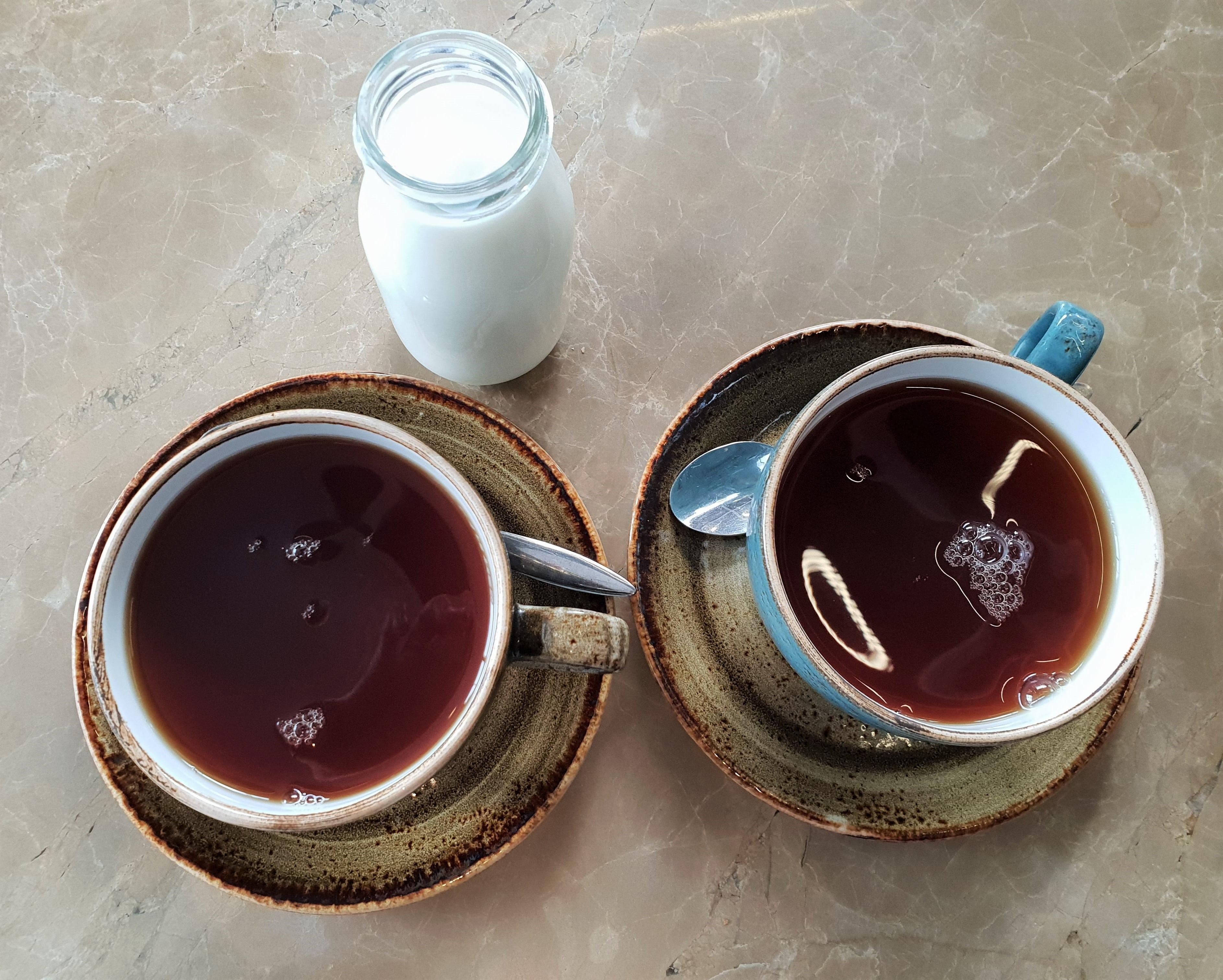 Plate tea Academy tea
