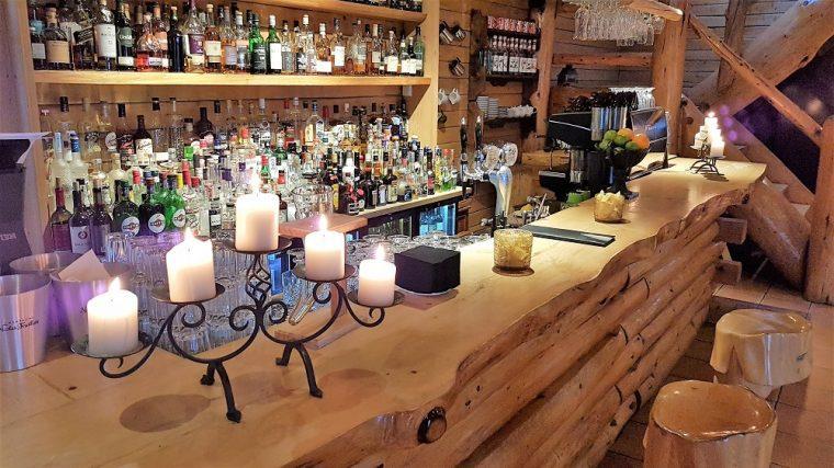 The bar at the Ranga Hotel
