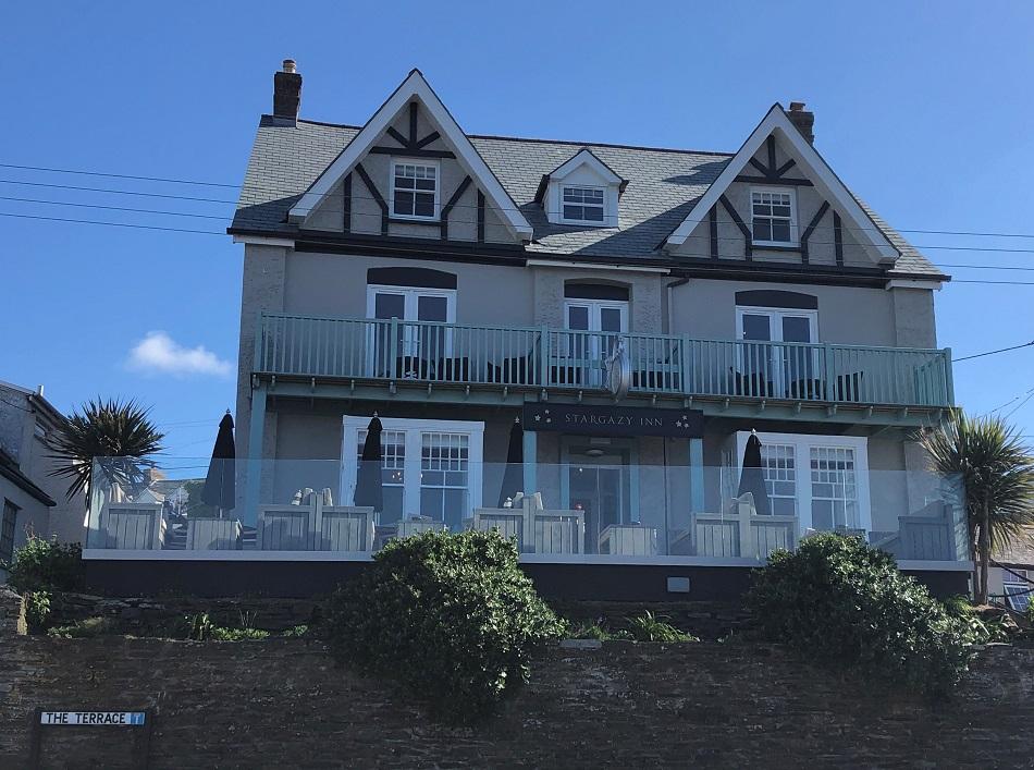 Stargazy Inn exterior Port Isaac Cornwall