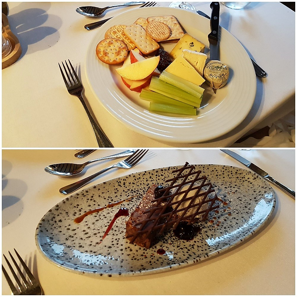 Dessert and Cheese at the Hand Hotel