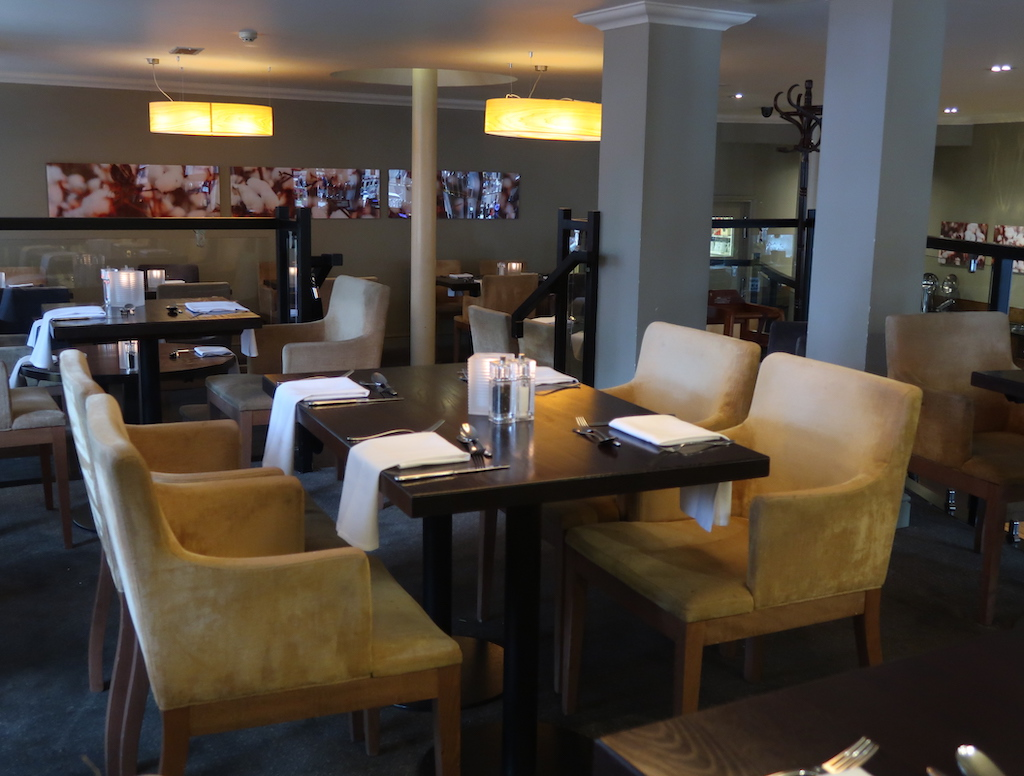 The Townhouse Hotel dining
