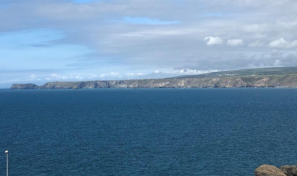 View fom Stargazy Inn Port Isaac Cornwall