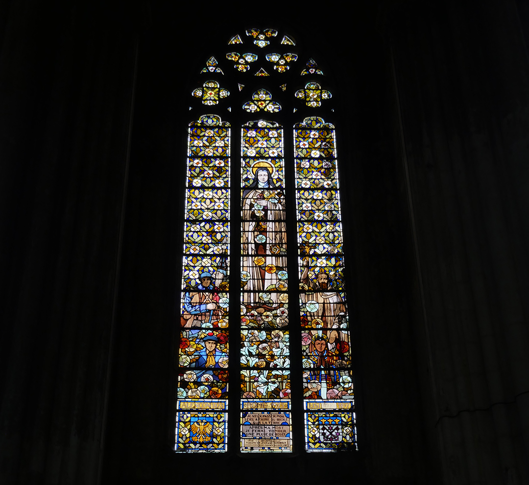 Window - St Quentin Cathedral