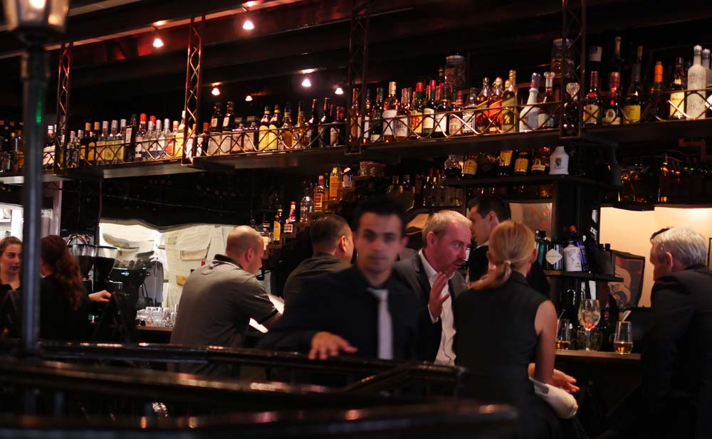Bar at El Pirata, Mayfair