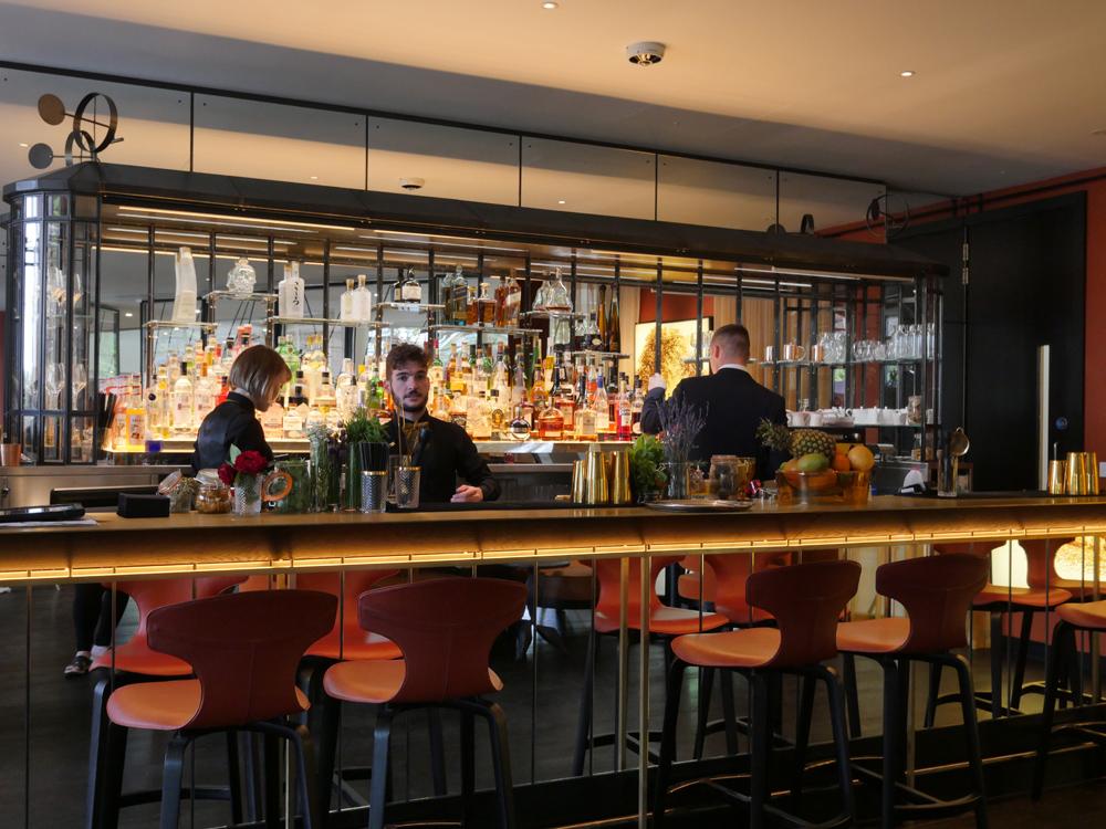 Bar at The Glasshouse Restaurant