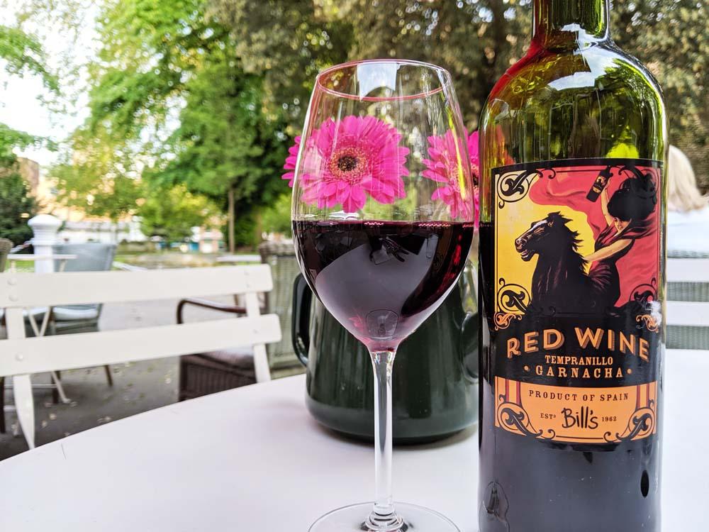 Bills Red Wine